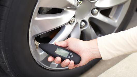 Tire pressure for winter