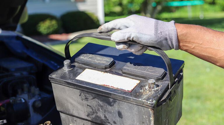 Where to recycle car batteries