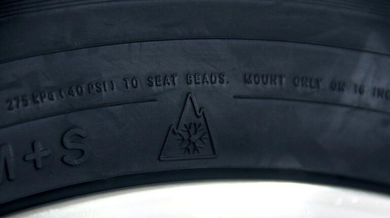 Load index for tires