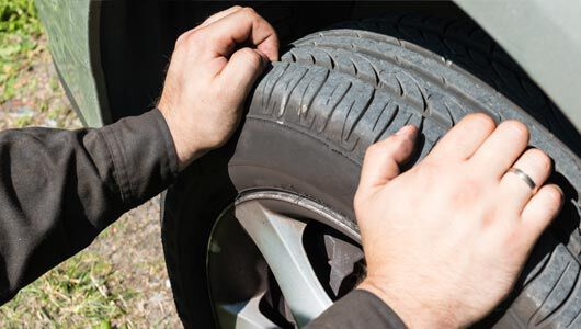 measure tread depth on your tires