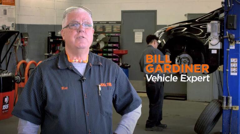 Visual brake inspection