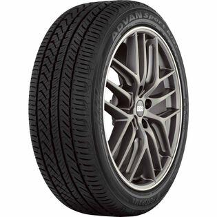 Yokohama Advan Sport A/S+ V405 tire - angle
