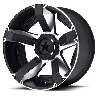 XD Series Rockstar 2 Black Wheel