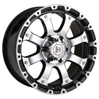 Black Iron Vigilante Black Gloss Wheel