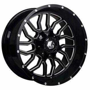Black Iron Kodiak Black Gloss Milled Wheel