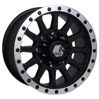 Black Iron Taiga Black Satin Wheel