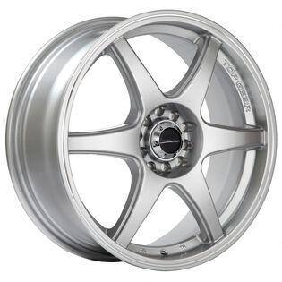 Street Gear Top Gear Silver Machined Wheel