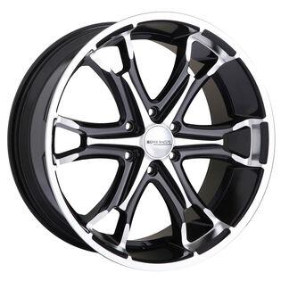 Core Racing Gambler Black Gloss Machined Wheel