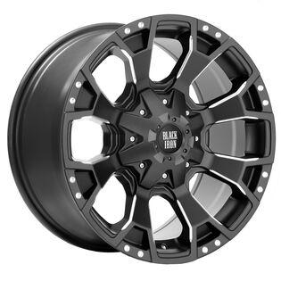 Black Iron Bronco Black Satin Wheel