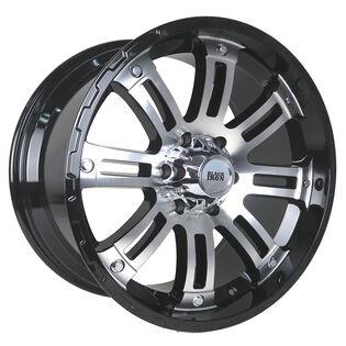 Black Iron Rival Black Gloss Machined Wheel