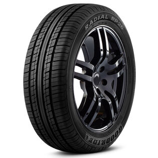 Goodride RP26 tire - angle