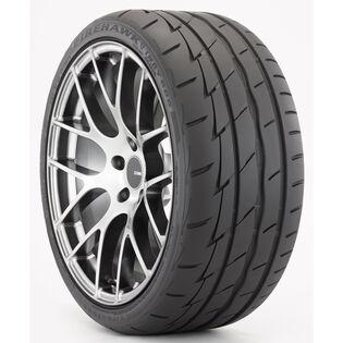Firestone Firehawk Indy 500 tire - angle