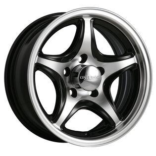Core Racing Mariner ST Black Gloss Machined Wheel