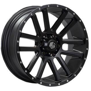 Black Iron Spur Black Satin Wheel