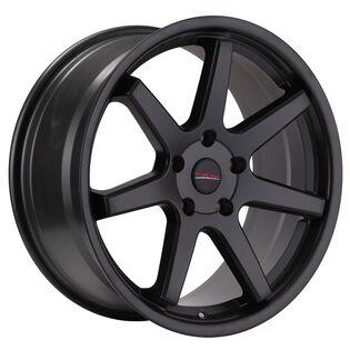 Street Gear Chicane Black Satin Wheel