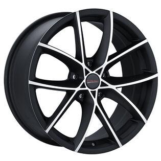 Street Gear Vapor Black Gloss Machined Wheel