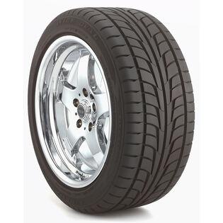 Firestone Firehawk Wide Oval tire - angle