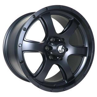 Black Iron Fury Black Satin Wheel