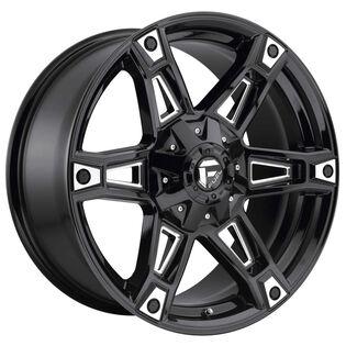 Fuel Dakar Black Gloss Milled Wheel