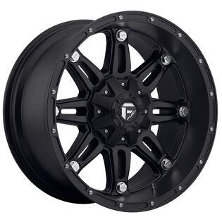 Fuel Hostage Black Matte Wheel