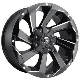 Fuel Razor Black Milled Wheel