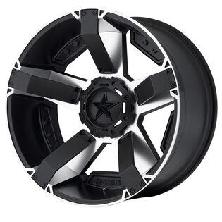XD Series Rockstar 2 Machined Black Wheel