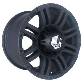 Black Iron Rebel Black Matte Wheel