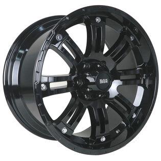 Black Iron Rival Gloss Black Wheel