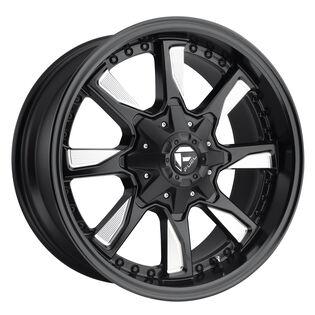 Fuel Hydro Black Milled Wheel
