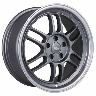 Street Gear | Tarmac Gunmetal Satin Machined Wheels