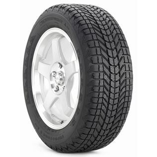 Firestone Winterforce tire - angle