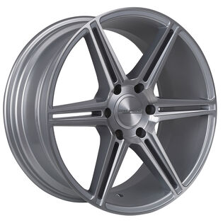 Core Racing Esteem Silver Brushed Wheel
