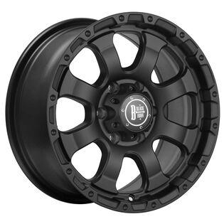 Black Iron Vigilante Black Satin Wheel