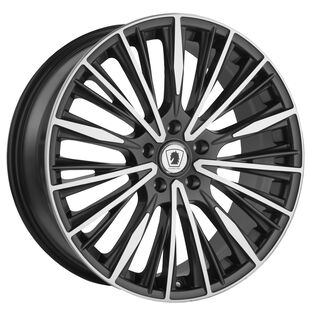 Klasse Milan Dark Gunmetal Wheel