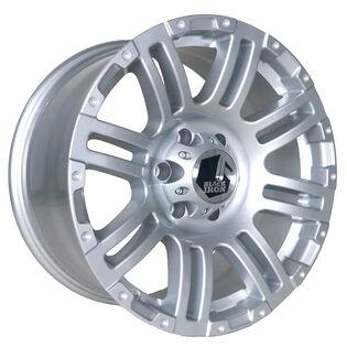 Black Iron Rebel Silver Wheel
