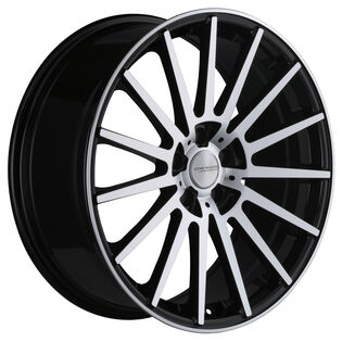 Core Racing Axion Black Gloss Machined Wheel