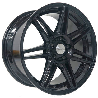 Core Racing Seven7 Gloss Black Wheel