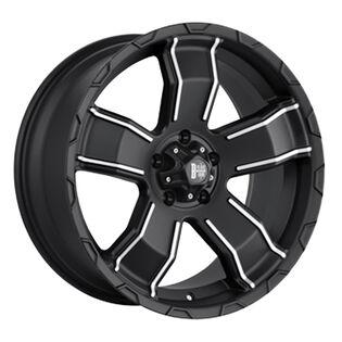 Black Iron Renegade Black Matte Wheel