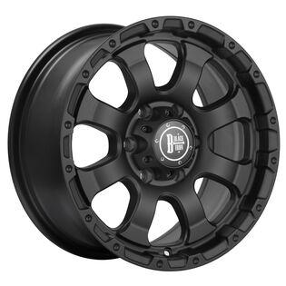 Black Iron Vigilante Black Wheel