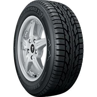 Firestone Winterforce 2 tire - angle