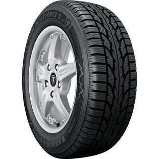 Firestone Winterforce 2 UV tire - angle