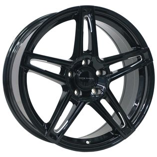 Core Racing Eclipse Black Gloss Milled Wheel