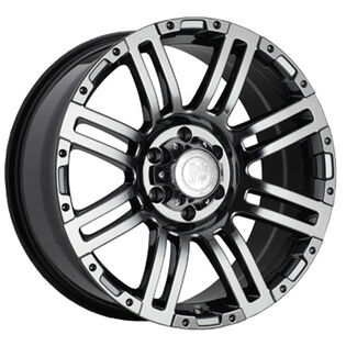 Black Iron Rival Black Chrome Wheel