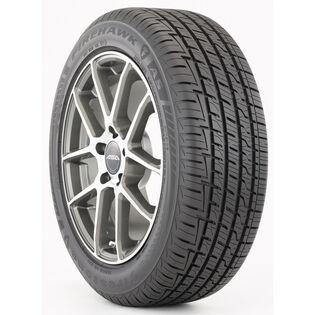 Firestone Firehawk tire - angle