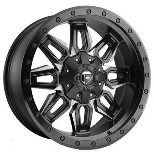 Fuel Neutron Black Milled Wheel