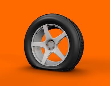 run flat spare tire