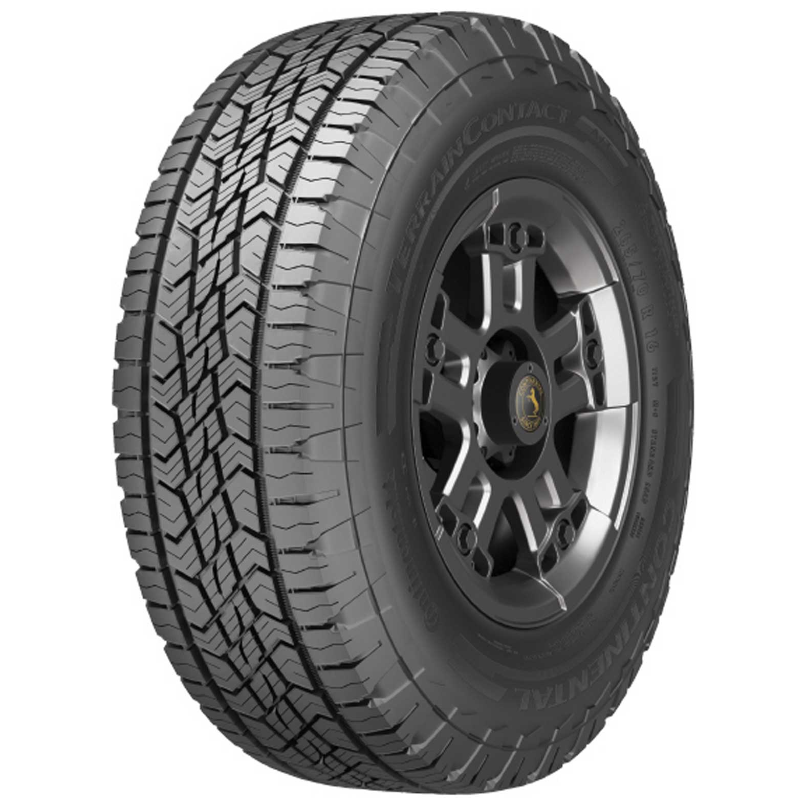 Continental TERRAIN CONTACT A/T tire - angle