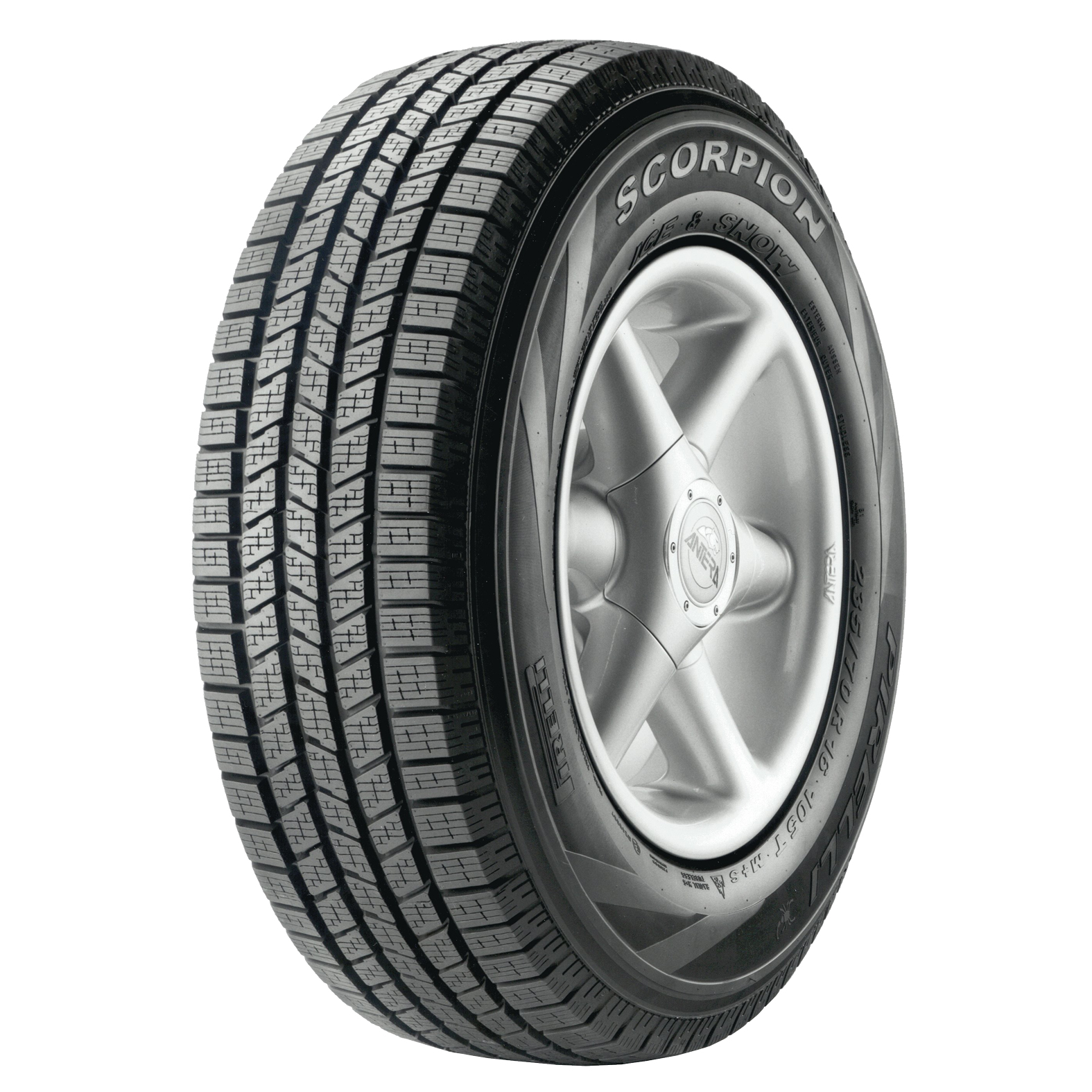 Pirelli Scorpion Ice and Snow tire - angle