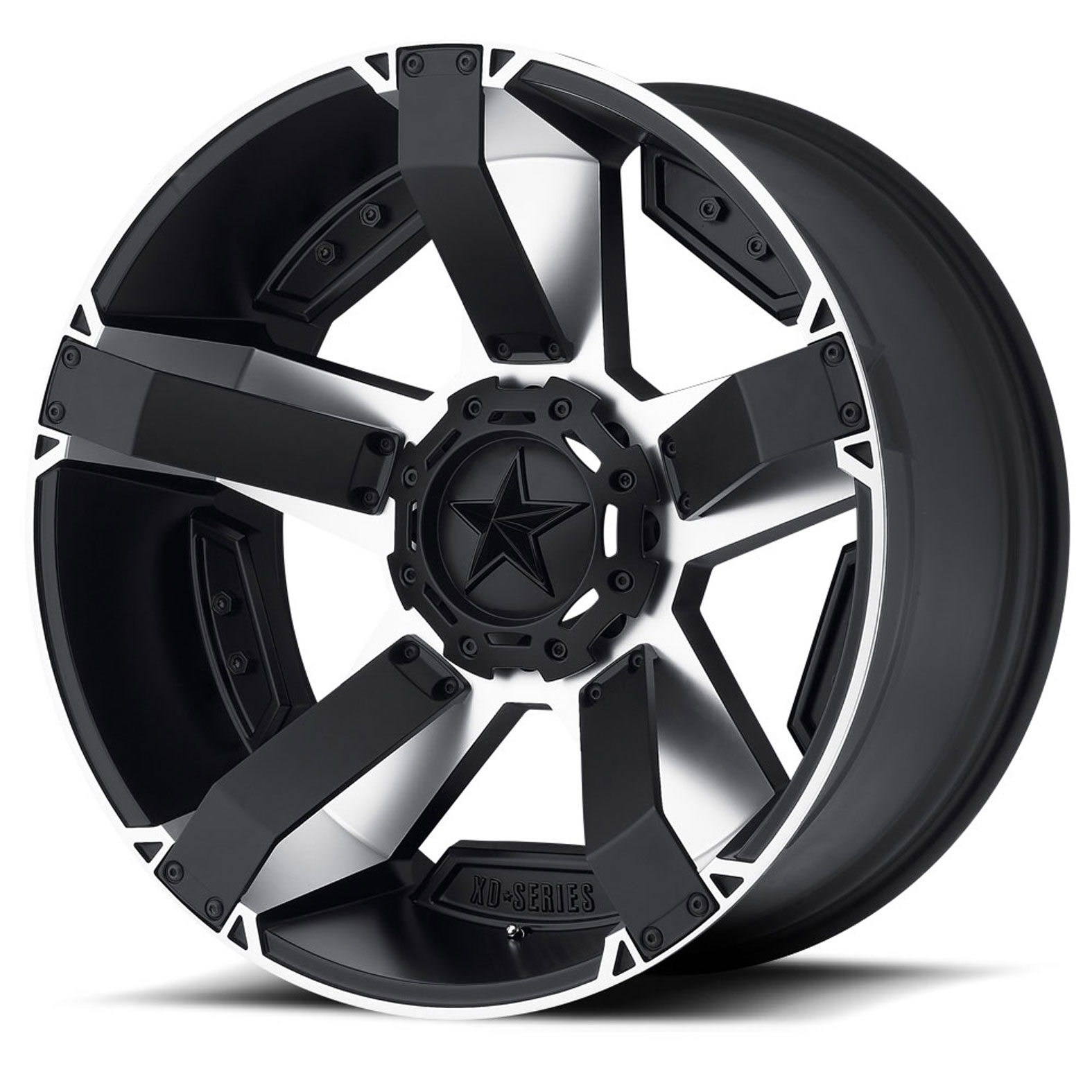 XD Series Rockstar 2 Black Wheel