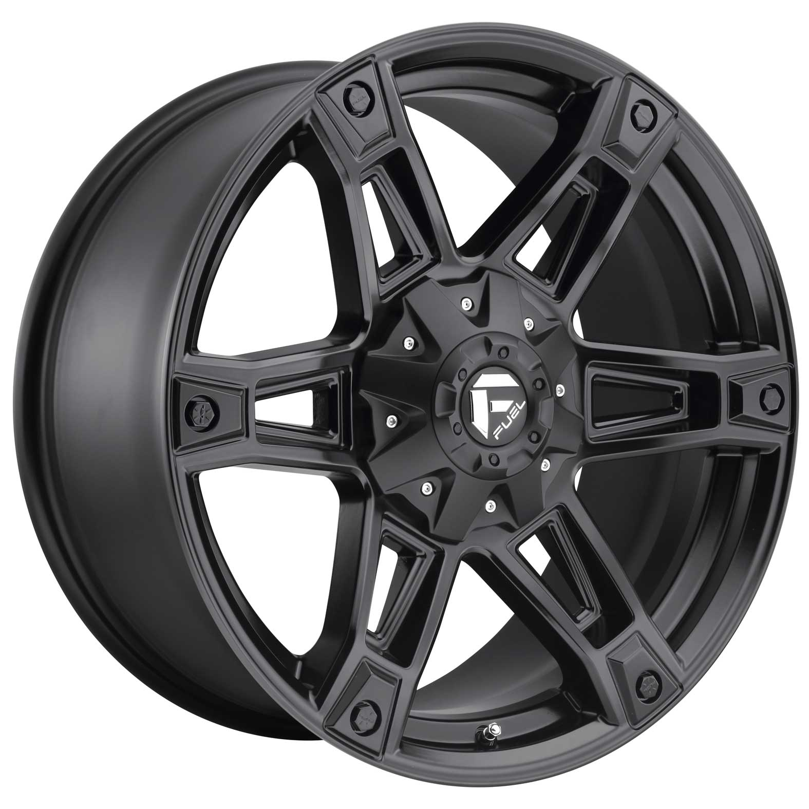 Fuel Dakar Black Satin Wheel